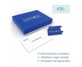 Eigen Keuze Kerstpakket 20 euro